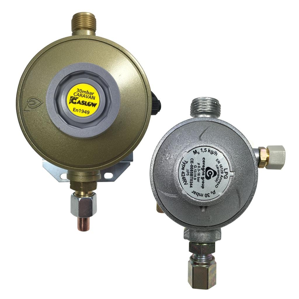 Gas Locker Mounted Regulators