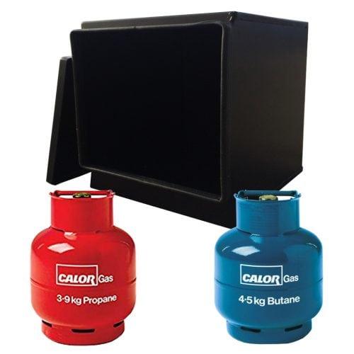 Gaslow LPG gas locker for twin 3.9kg & 4.5kg gas cylinders