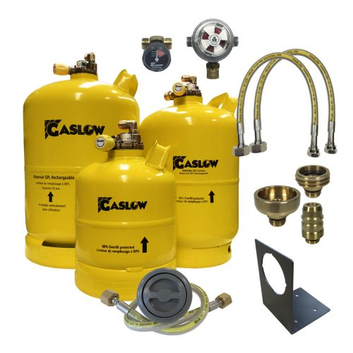 Gaslow LPG Refillable Cylinder Systems