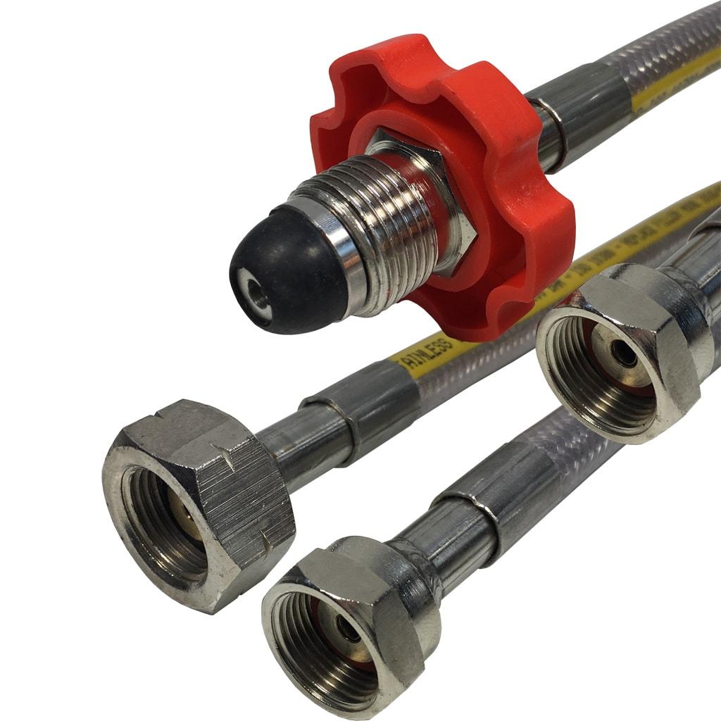 Gaslow Stainless Steel Regulator hoses