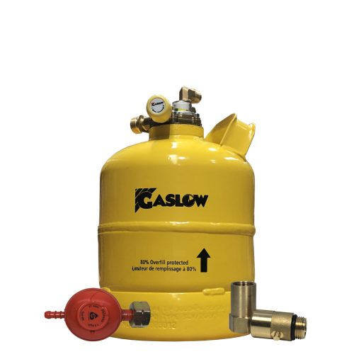 Gaslow 2.7kg Direct Fill LPG cylinder 01-4003-67-D