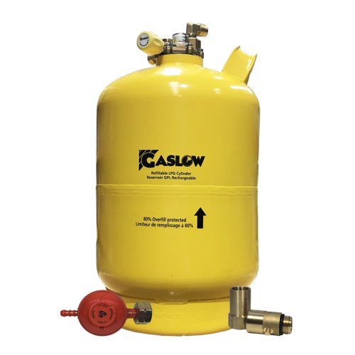 Gaslow Refillable 6kg Direct Fill LPG cylinder 01-4006-CE-D