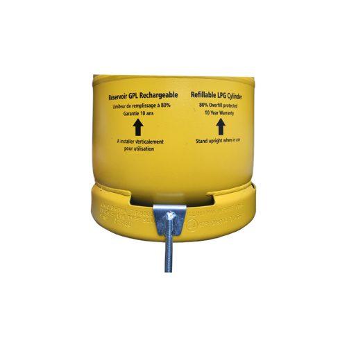 Gaslow motorhome & farrier restraint hooks for LPG cylinders