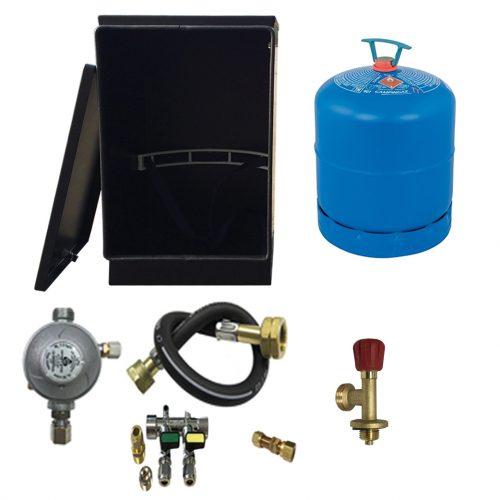 Gaslow Gas locker kit for 2.7kg cylinders