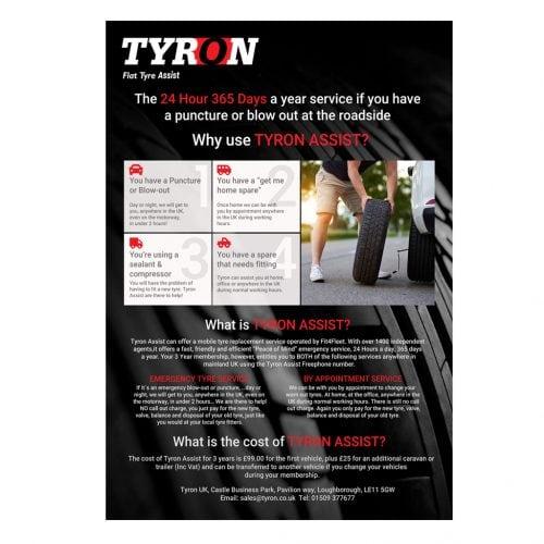 Tyron assist leaflet 2020